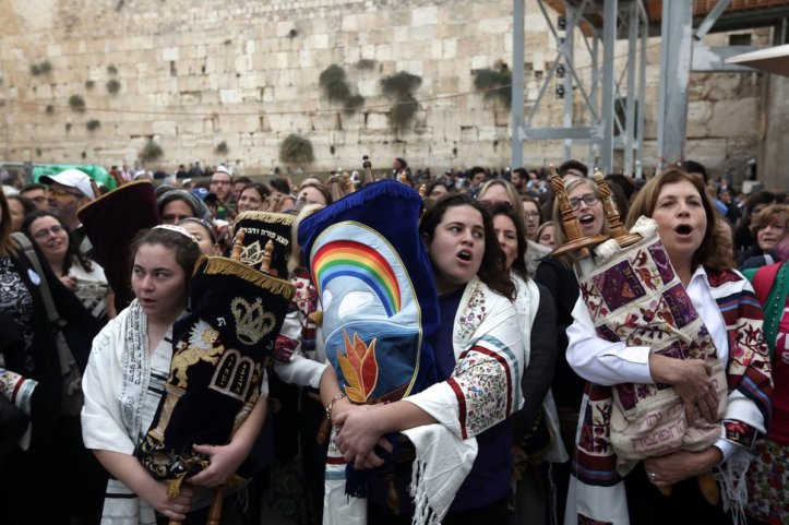 ISRAEL-RELIGION-JUDAISM-WOMEN-OF-THE-WALL