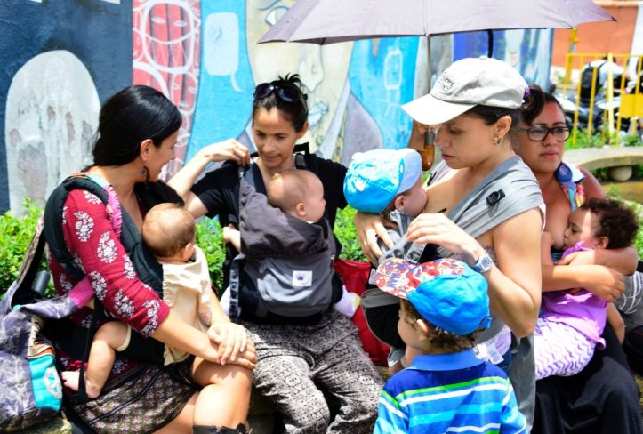COSTA RICA-BREASTFEEDING-PROTEST