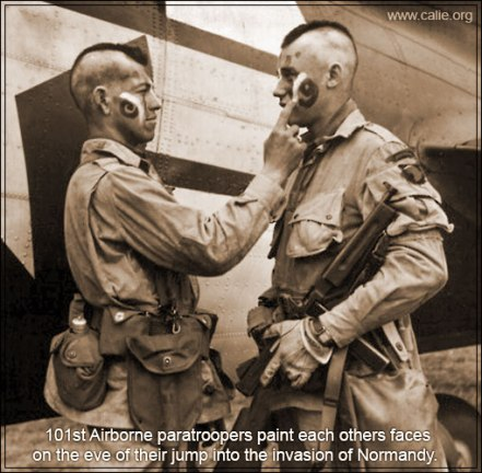 Warrior_Face_Painting_WW2