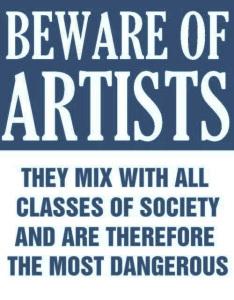 beware-of-artists-meme